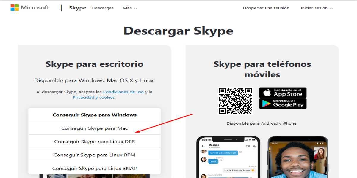 Descarga Skype PC