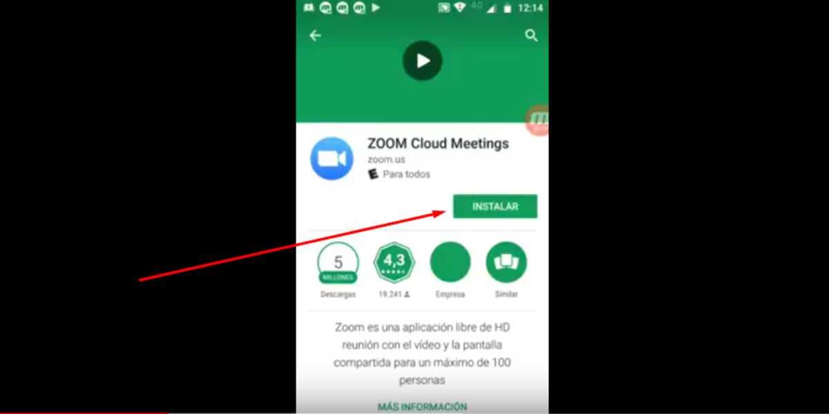 Descargar Zoom para moviles