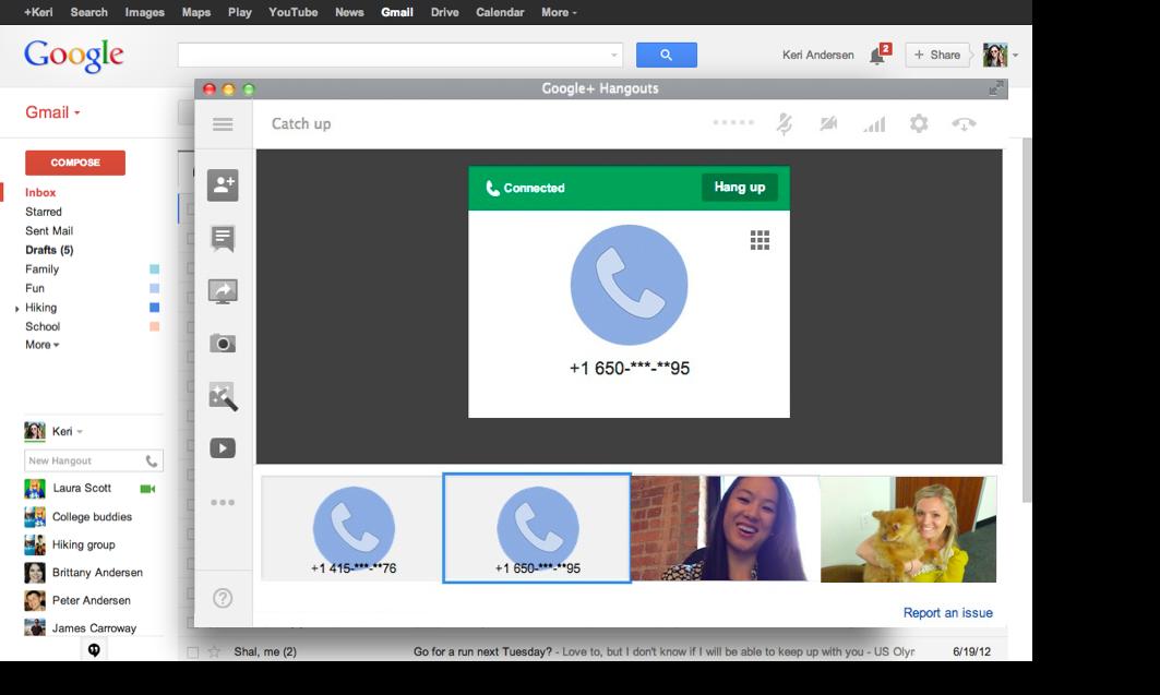 como hacer una videollamada con gmail